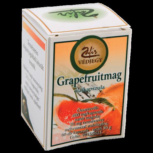 Zafír Grapefruitmag Olajkapszula