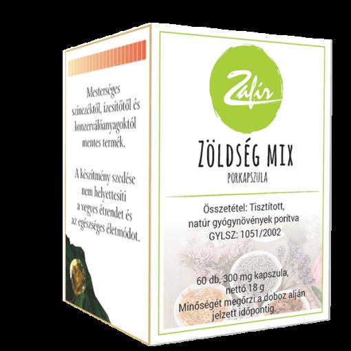 Zafír Zöldség-Mix kapszula